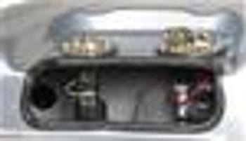Fuel Tank, Sniper EFI, 20.5 Gallons Capacity, Steel, Silver Powder coated, Baffled Sump, Chevy, Kit