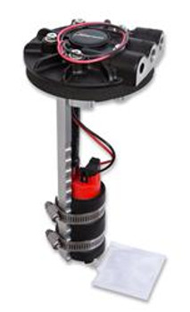 Fuel Pump, Electric, In-Tank, Diecast Retrofit Module, 6 psi, 340 lph, Gasoline, E85, Each