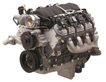 Engine Assembly, Crate Engine, DR525, NMCA, Chevy, 6.2L, 376, 525 hp, 1-Piece Rear Main Seal, Muscle Car Oil Pan, Each