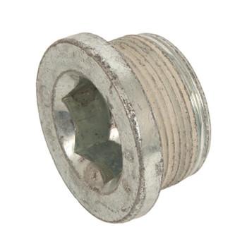 Engine Coolant Plug Fastener, Bolt, Internal Allen Head, 27mm x 1.00 Thread Size, 17mm Allen Head Size, Chevy, Small Block LS, LT, Each