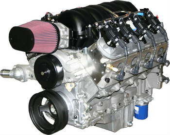 Crate Engine, Performance Race Series, Complete, 427 C.I.D., Carbureted, 725 Horsepower, Chevy LS, Each