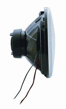 Headlight Conversion, 7 in. Diameter, Crystal Headlight, 34 LED Auxiliary Amber lights, Each