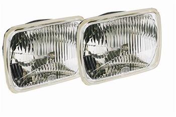 Headlight Assemblies, Vision Plus, Headlamp Conversion, Clear, Chrome Housing, Universal, Each