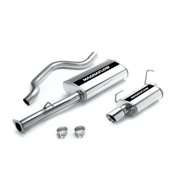 Exhaust System, Cat-Back, Stainless Steel, Polished Stainless Tip, Chevy, 6.0L, Kit