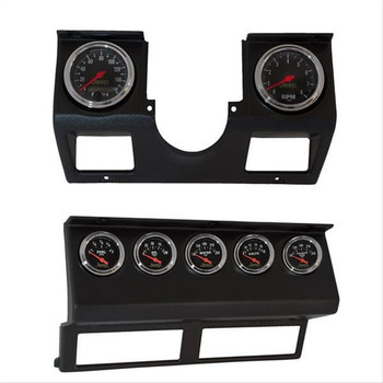 Instrument Cluster, In-dash, ABS Plastic, Black, Jeep, Kit