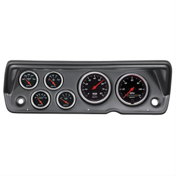 Instrument Cluster, Designer Black Series, Tachometer, Speedometer, Fuel Level, Oil Pressure, Water, Volt, Kit
