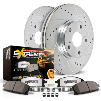 Brake Rotors/Pads, Cross-Drilled/Slotted, Iron, Zinc Plated, Carbon Ceramic Pads, Cadillac, Chevy, GMC