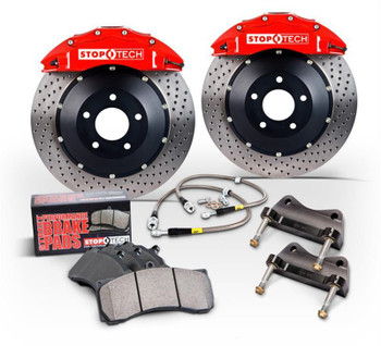 Disc Brakes, Rotors, 4-Piston Calipers, Lines, Pads, Toyota, Kit
