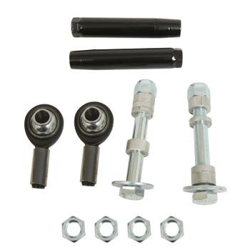 Bump Steer Kit, Aluminum Adjuster, Natural, Rod Ends, Ford, Kit