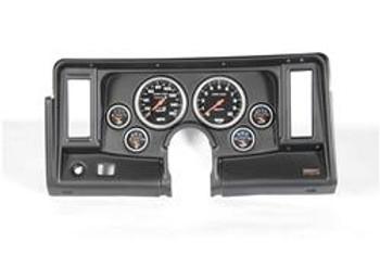 Gauge Panel, Thunder Road, Black Panel, AutoMeter Sport-Comp, Chevy, Kit