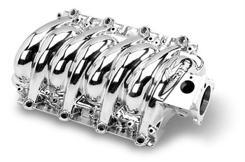 What happens when you add one of these LS6-style intake manifolds to your LS1? You get some serious horsepower gains--up to 12 HP over stock. And Weiand left plenty of room to make more power, too. These lightweight aluminum intakes have a surprisingly beefy design, which gives you plenty of room for porting. Plus, the manifolds can handle the high-intake pressures of nitrous or blower systems. Other features include an idle-to-6,200 rpm powerband, a removable underside panel for access to the runners, and your choice of satin or polished finishes.