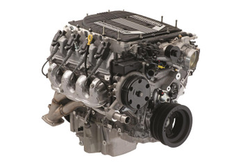 Crate Engine, 6.2L Supercharged LT4 Wet Sump, 650HP, 650 lb.-ft Torque, 3-PIN, Forged Steel Crank, 10:1 Compression,