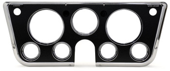 Finish up your C10 interior with this marvelous bezel, which matches everything that you need to read your rig's vital signs. Get rid of that tri-pod gauge cluster under your A/C controls, and put everything in your line of sight so that you can be safe and sound, while protecting your investment!