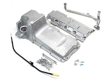 For the best swap experience, we recommend the LH8 Pan. This is the oil pan many of our kits are designed around. Comes standard or machined for the oil bypass valve for use with displacement on demand or variable valve timing. Includes new full length windage tray, pickup tube, hardware, gasket, dipstick, and our pickup tube girdle.   Engines covered: 4.8, 5.3, 5.7, 6.0, 6.2