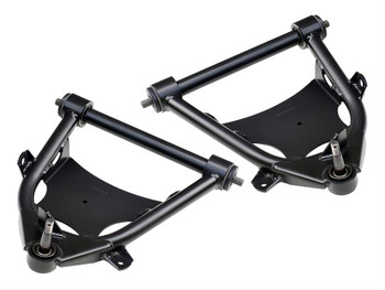 """What says """"performance"""" more than a set of tubular control arms! After all of the time and effort expended on your ride, you definitely can't let your stamped oem control arms detract from all that work. Finish your suspension off with these new tubular control arm systems from Ridetech. Built with all of the care and experience you have come to expect from us, these tubular control arms are a precision engineered solution for ShockWave® installation, ball joint binding, and frame clearance issues that can haunt some vehicles. When you combine the performance benefits with the elegant design of these arms, there is no question.... You want these."""