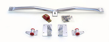 94-04 S10/S15 Swap Kit. Includes motor mounts, frame brackets, transmission crossmember, transmission mount, and hardware.  Manufactured from the highest grade American made steel. They're laser cut, precision bent, powder coated and feature polyurethane bushings.  Comes with a lifetime free replacement warranty on the bushings.