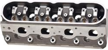Brodix delivers the industry's most powerful and durable out-of-the-box LS head in it's class with their BR series. The ''BR 7'' comes standard with 72cc combustion chambers, bowls blended, and intake ports matched. The ''STS BR 7'' is a 100% CNC ported version that flows over 375cfm. The ''BR 7'' and the ''STS BR 7'' both utilize a 12° valve angle and 2.204'' / 1.614'' valve combination. The ''STS BR 7 273'' flows over 415cfm with a 72cc combustion chamber and 2.250'' / 1.614'' valves. The BR-series heads feature the ''6 head bolt per cylinder'' LSX block design but are standard LS block compatible and accepts standard LS7 valvetrain components. The 6-bolt LSX design easily and reliably handles increased cylinder pressures of turbocharged, supercharged or high compression applications. Every casting is poured from A-356 virgin aluminum and tested before Brodix utilizes their in-house processes such as CNC machining and heat treating to assure that you receive the best products for your hard-earned money. Solid, phosphorous bronze guides are used to reduce valve leakage and oil consumption. The ductile iron valve seats are installed for use with unleaded fuel. Sold in Pairs. Made in the USA!