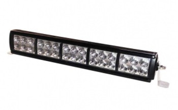 Details & Product Specs  LED Chip: Our SP LED bars use 3W Osram LEDs for great output at an affordable price. Each LED is driven at 300 Lumens per bulb. The Osram Olson SSL LED will retain 96% of it's output after 20,000 hours of use! Each LED is perfectly placed on the circuit board for a perfect beam inside each reflector.  Housing: The lightweight aluminum housing can be mounted just about anywhere. A nearly indestructible polycarbonate provides serious protection from rocks and bushes. All this and it's IP67 waterproof so it can be submerged up to 1 meter for 30 minutes without getting water in the housing. Integrated heat sink dissipates heat so the LEDs stay cool even in the hot desert.   Thermal Heat Management: Built in circuitry to regulate the output if conditions get too hot.