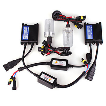 Xenon Light Kit Ballasts: Each ballast is assembled using micro processors to have a smaller footprint and insure the highest output. All ballasts power the bulbs with AC current to keep efficiency high and power consumption down. Universal 9006 input works with most OEM ballasts but some will require additional H1 to 9006 adaptors to power ballast. Each ballast is potted to protect against the elements and can withstand the vigorous abuse of off-road use. Internal circuits are protected against reversed polarity.  Compact Design: 35W Ballast: 63mm wide, 15mm tall and 83mm long 55W Ballast: 68mm wide, 17mm tall and 106mm long  Wiring / Connectors: All non OEM HID bulbs come with Plug and Play adaptors to go between the factory wiring and the ballast (or HID Accessory) so there is no cutting or splicing needed. Industry standard AMP connectors are used to attach the bulb and ballast.  Warranty: The bulbs and ballasts are designed to last about 3000 hours, that's over 8 years if used every day for 1 hour. Regardless of usage time we offer a LIFETIME WARRANTY on all components in the kit.  All DDM Kits have been and will always be sold with a Lifetime Warranty.  Kit Includes: 2 x Ballasts 2 x HID Bulbs 2 x Adaptors (when required)