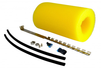"Allows for installation in tanks up to 20"" inch deep.  For use with 450 Phantom kit #18310  Kit Includes: 18"" Fuel Pump Hanger 12"" Foam Extension Longer Fuel Supply Tubing 20"" Electrical Pig Tail extension"