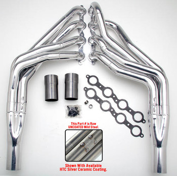 "These Headers are designed specifically for installing an LS engine into 1967-98 Chevy/GMC 1/2 Ton Trucks and SUVs (C10, C15, C1500, R10, R1500 trucks, Suburbans, Yukons and Tahoes), and are available in a variety of tube lengths and diameters. These headers will work with our LS Swap kits.  These headers are 1 3/4"" long tube and uncoated."
