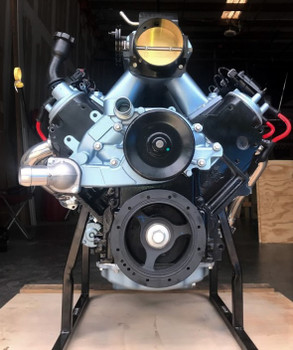"The Vortec 5300 LM7 (VIN code 8th digit ""T"") was introduced in 1999, and can be considered the ""garden variety"" version of the Generation III 5.3 liter V8's. The 1999 LM7 engine produced 270 hp (201 kW) and 315 lb·ft (427 N·m), 2000-2003 engines made 285 hp (213 kW) and 325 lb·ft (441 N·m). The 2004-2007 engines made 295 hp (220 kW) and 335 lb·ft (454 N·m), it has a cast iron block and aluminum heads."
