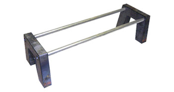 "Complete 8-piece notch with crossmember mounting holes. (2) 48"" x 1.5"" round crossmembers included."