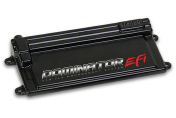 DOMINATOR EFI ECU The new standard in EFI with virtually unlimited capabilities! Integrated electronic transmission control, drive by wire throttle control, dual wideband oxygen sensor capability, extensive amount of inputs and outputs for various combinations, and much more.