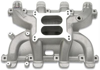 Want to keep the LS Swap in your muscle car or truck decidedly retro? You can keep your carburetor! This is the intake manifold that will get you one step closer to your desired goals....getting your vehicle running. This intake manifold has the complete intake section, which is dual plane and set up for a single carb.  Basic Operating RPM Range:1,500-6,500 Intake Manifold Height:4.950 in. Intake Finish:Natural Intake Material:Aluminum EGR:No