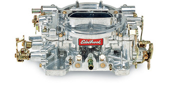 "(CALIBRATED FOR PERFORMANCE)  Designed and calibrated for small cubic-inch engines such as 305 c.i.d and smaller Chevrolet; 302 c.i.d. and smaller Ford and dual-quad applications such as Edelbrock C-26, F-28 and Street Tunnel Ram. Match with an Edelbrock Performer or Performer EPS manifold or other brands of similar design. Includes both timed and full vacuum ports for ignition advance. Comes with: Metering Jets - Primary .086, Secondary .095; Metering Rods - .065 x .052; Step-Up Spring - orange (5"" Hg). Use Carb Studs #8008 or #8024 if needed."
