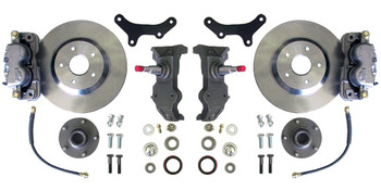 """63-70 C-10, 13"""" FRONT DISC KIT, W/ 2.5"""" SPINDLES, (5x4.75), (MUST USE 17""""+ RIMS). Click product description for additional information."""