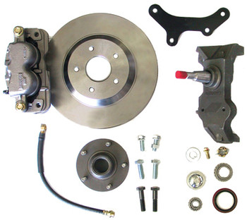 """63-70 C-10, 13"""" FRONT DISC KIT W/2.5"""" SPINDLES **CROSS DRILLED** (5 ON 4.75"""") (MUST USE 17""""+ RIMS)   Click product description for additional information."""