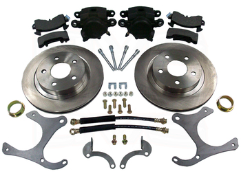 Front and Rear Brake Kit.  Rear brakes pictured here.