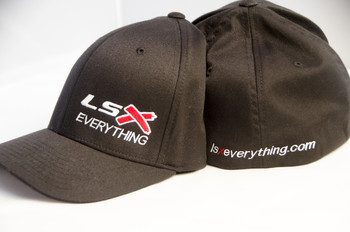 Get your FlexFit (TM) Fitted cap, and represent your LSx Pride! Let them know that you agree....put an LS in Everything.  Please indicate whether you need Small, Medium, Large or Extra Large.