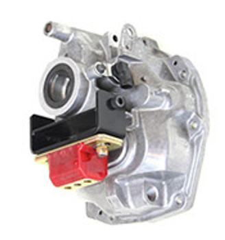 """To keep up with new transmission options we offer two transmission adapter brackets for the late model T-56 and TR-6060 transmissions, including the MG9 """"high-torque"""" version of the TR-6060 behind the LSA engines in the CTS-V and ZL1 Camaro. They are designed to adapt a standard transmission mount to the transmission using the factory bolt holes and places the transmission mount in the correct location for our LS swap kits.  The adapter bracket for the Cadillac CTS-V T-56 and standard TR-6060 is laser cut, CNC bent and jig welded using 3/16"""" steel and powder-coated black. The adapter bracket for the MG9 high-torque TR-6060 is CNC machined from 6061-T6 billet aluminum and has a milled finish. Both come with all necessary hardware.  Both adapter brackets are shown with our polyurethane transmission mount which is not included with the transmission adapter brackets, but is included with our LSx swap kits."""