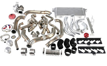 "Turbo, Intercooler & Piping Kit For 2009-2015 Chevrolet Camaro with LS3 Engine.  304 Stainless High Flow Header   T4 T76 Turbo, with 0.81 AR Exhaust Housing, Fast Spool.  Dual 44mm V-band wastegate 3"" Intercooler with Polished Aluminum Piping 3"" Stainless Steel Downpipes, Connects to Stock Catback Exhaust System  Included in kit - T76 Turbocharger  - Twin Turbo Header downpipe kit  - 44mm 8 PSI V-band wastegate  - Oil Filter Sandwich and Oil Line Kit - Set of V-band Clamp  - Aluminum Intercooler, with Mounting Brackets  - Aluminum Intercooler Piping Kit  - Set of Silicon Hose  - Set of T-bolt Clamp - Blow Off Valve  - Mushroom Air Filter  - Coil Pack Relocation Bracket"