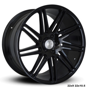 "Now you can ""sexify"" your vehicle with these BEAUTIFUL concave wheels from RoadForce! Priced per wheel. Order them staggered if you want to have that DEEEP concave look in the rear.  Available Sizes: 22x9, 22x10.5 - 5x112 - 5x114.3 -5x120 -Black Face  They are TPMS Compatible! Order yours today!"
