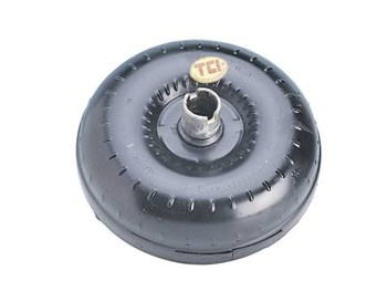 TCI Breakaway Torque Converters are designed for use in moderately modified street machines, weekend racers, and as daily driving use. Breakaway Torque Converters provide between 2400 to 2600 RPM flash stall without negatively affecting part-throttle driving. TCI has engineered these Breakaway Torque Converters to be efficient at highway cruising speeds and to launch hard at wide-open throttle. Each unit is built to meet or exceed OE specification and triple tested during assembly. Once all the prep work on the component parts has been completed, the impeller is welded to the front cover. Immediately following this process, a pair of dial indicators are employed on a rotating table to verify that the impeller body and pump drive hub remain true. Each unit is then pressurized and subjected to a leak test to confirm the integrity of all the weld seams. Lastly, each unit is computer balanced to reduce annoying and potentially damaging drivetrain vibrations that would occur from an unbalanced torque converter. That's Triple Tested so you can be confident you're getting a torque converter that's ready to roll.  Features  Furnace-brazed fins Needle bearings Hardened, pre-ground pump hub Computer Balanced Installed Hardware Included Benefits  Harder launches Quicker acceleration Improved low-end power Bolt-in (no modifications required) 1000+ RPM increase in stall over stock