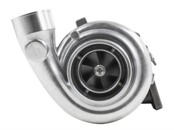 """MAKE HUGE POWER with your LS! Get this today!  T6 GT45 Single Ball Bearing Turbo, with 1.28 A/R Turbine Housing. Single Ball Bearing T6 GT45 1.28 A/R Turbo Charger Ball Bearing on Compressor Side 1.28 A/R Turbine Cast Wheel 5"""" Air Inlet and 3.25"""" Turbo Outlet 3.5"""" 6-Bolts Outle T6 Twins-Scroll Flange to Manifold Comes with Oil Feed and Drain Fittings, and Metal Gaskets Includes the following:  Ball Bearing T6 GT45 1.28 A/R Turbocharger Oil Feed -AN4 Fitting  Oil Drain Flange  Gaskets  Tech Specs: Air Inlet: 5"""" Compressed Air Outlet: 3.25"""" Bearing: Single Ball Bearing Turbine Housing Flange: Standard T6 Twin-Scroll Exhaust Outlet: 3.5"""" 6-bolt Outlet HP Rating: 1200 HP Cooling: Oil Cooled Working Pressure: 30 PSI Compressor: Cast Wheel Turbine: 1.28 A/R Compressor Wheel: 80/108 MM Turbine Wheel: 88.9/77.4 MM"""