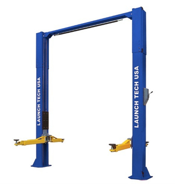 """Working in your shop can be so much more fun or efficient when you have your own lift. Get yours today! Discount when you buy two or more lifts at once. Contact us for shipping options or for installation.  •ALI certified •11,000 lb lifting capacity •Direct Drive •Adjustable Column Height - Provides an extra 6"""" of height adjustment for ease of installation with various ceiling heights •Rubber Door Guards - Provides added security against door damage •Outer Hose Guards - Protects hydraulic hoses from damage •Stackable Foot Pad Extensions - Extra tall applications are no problem with the four 6"""" tall and four 3"""" short extensions •Single Point Lock Release - Allows technicians to disengage both column locks simultaneously •Heavy-Duty Arm Restraint System - Oversize rugged steel gears, pins and springs for trouble free operation •Double Telescoping Screw Pads - Used with or without rubber pads offering 6.5"""" adjustment for complete vehicle coverage •Standard Asymmetric - Lift installed with columns facing each other •3 Stage front arms"""