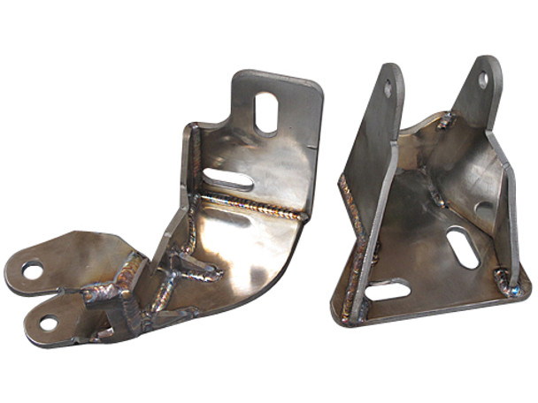"""E46's Factory Motor Mount Plates Are Weak, Sometimes Might Have Been Broken, It Becomes A Major Issue with Doing Motor Swap Into E46. Our Motor Mounts Are Designed to Enhance to Strength and Stability of the Mounting Plates By Using Two Mount Bolt Holes, One Directly Bolt Down to Factory A Arm Bolt. See Pictures.  This Swap Kit Fits LS Motor Using Factory GM Camaro Oil Pan and Camaro Shifter (But Need to Enlarge the E36 Factory Shifter Hole)  Part(s) Being Sold Has One or More Registered Patent(s)  -Chassis: 1991-1999 BMW E36  -Motor: LS1/LSx  -Transmission: T56 Manual  Engine + Transmission Mounts All Parts Are Developed from Ground Up in Our R&D Center in USA, Designed and Built for Improved Performance Gains, with Excellent Fitment and Easy Installation.  Motor / Transmission Mounts: Heavy Duty 7 Gauge (0.18"""") Thick Stainless Steel Panel, with Brace Offers Strong Support Adjustable Slotted Bolt Holes Polyurethane Bushing Mounts Patent Pending Design of Motor Mount is Billet Stainless Steel, Excellent Strength"""