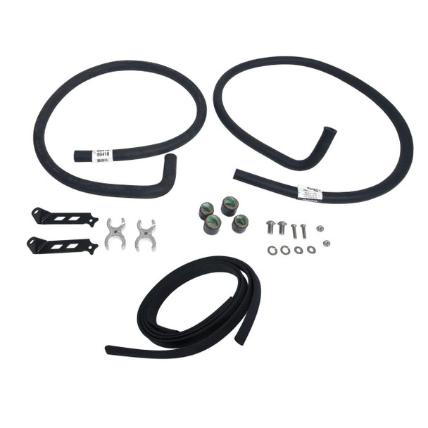 These heater hose kits include everything needed to plumb a custom heat system, and provide a clean, professional look under the hood.