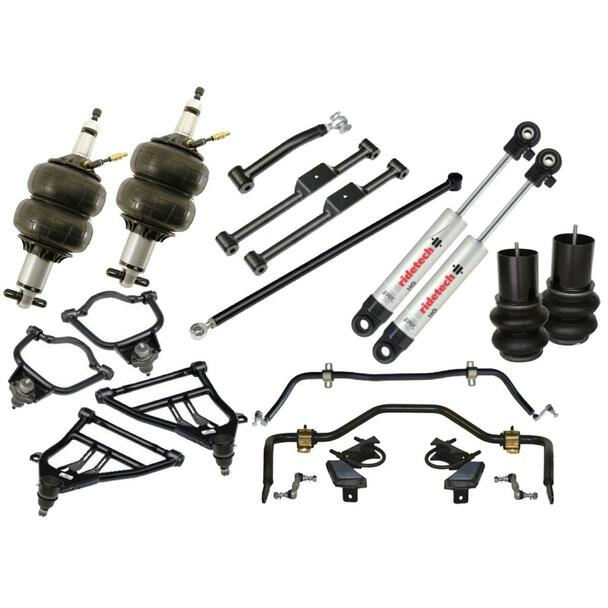 Air Springs, Air Suspension System, Lowered, ShockWave/CoolRide, Chevy, Kit