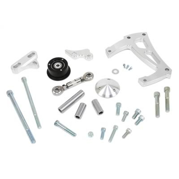 Did you order your serpentine kit for your LSx or LTx motor and skipped on the A/C part, and said to yourself....yeah, it is WAY too hot....I need a fix! (?) Well, look no further, everything that you need for that build is right here:  Air Conditioner Brackets Performance Accesory Belt Tensioner & Mounting Brackets Pulley Cover - (Clear Anodized) Air Conditioner Compressor (Chrome) - R134A
