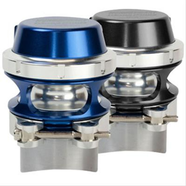 Turbosmart race port blow-off valves are designed for use on large-capacity turbocharger systems and high-horsepower engines. These are the largest and highest-flowing BOVs in the Turbosmart lineup. Featuring a unique collar design, small size, and lightweight construction, Turbosmart race port blow-off valves provide greater performance through faster turbo spool-up from idle, along with reduced turbo lag between gears. Turbosmart race port BOVs are ideal for circuit and drag vehicles and trucks.