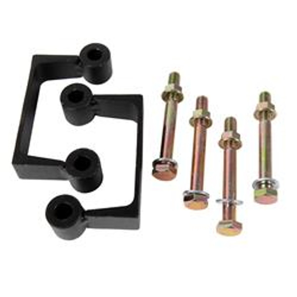 Suspension Leveling Kit, Spacer, 2 in. Front, Cadillac, Chevy, GMC