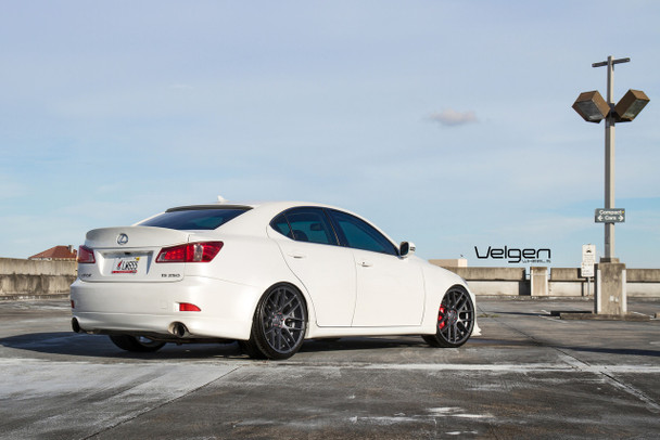 Shown here on Lexus IS350