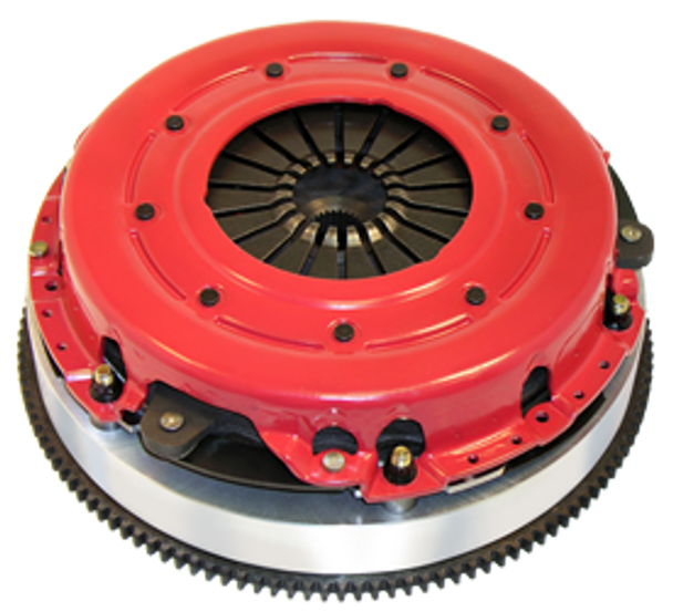 Whether you're worried about street performance or heavy-duty towing, RAM's Powergrip clutch kits will give you 30 percent more holding power over stock, and up to 60 percent more capacity in the Hi-Clamp HD sets. The friction material may be one of three types--KEVLAR®, metallic, or premium organic. The specific material chosen for each application is tailored to that particular vehicle for optimum performance. The kits include the pressure plate, clutch disc, and a clutch-alignment tool. The flywheel must be resurfaced to validate the warranty.