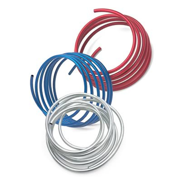 Russell aluminum fuel lines are an economical way to finish any performance fuel system. They're easy to form and come available in popular sizes to complement any street machine  Tubing Material:Aluminum  Tubing Outside Diameter:0.500 in.  Tubing Finish:Blue anodized  Tubing Length (ft):25.00 ft.