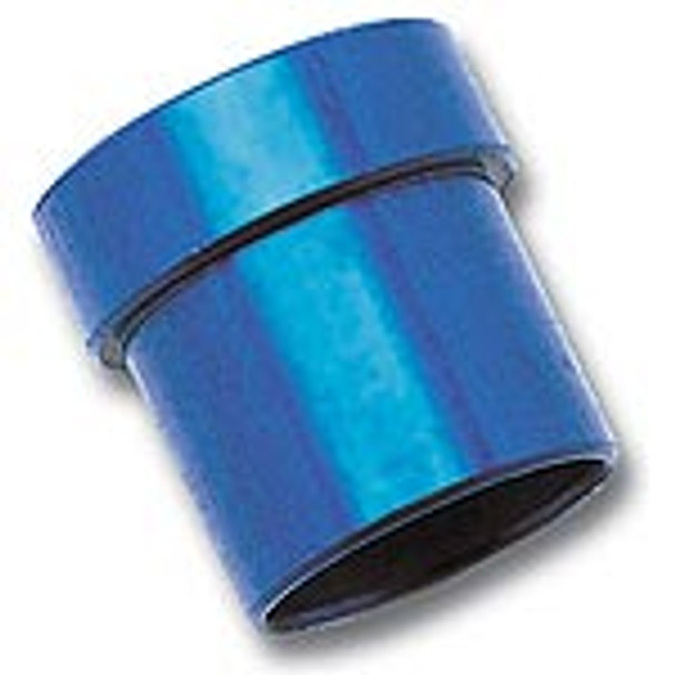 Fitting Size 1:-8 AN  Fitting Material:Aluminum  Fitting Finish:Blue anodized  Quantity:Sold as a pair.  These tube sleeves from Russell will make the installation of aftermarket steel or aluminum line to your factory hard lines a snap, saving you time and money. They are manufactured from aerospace aluminum and come available in either a protective anodized blue or new Endura finish.